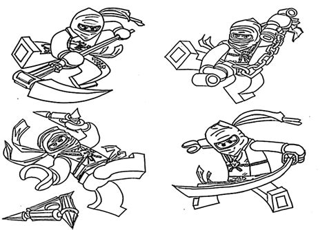 ausmalbilder ninjago  ausmalbilder malvorlagen