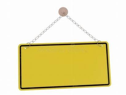 Hanging Blank Sign Clipart Reminder Banner Vector