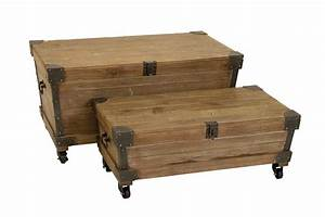 table trunks square steamer trunk end table square With chest type coffee tables