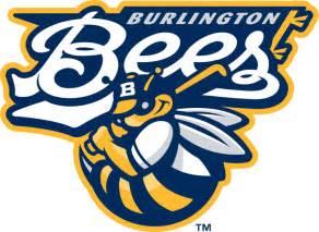 Burlington Bees Logo