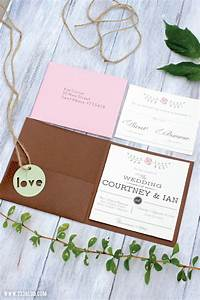 Diy rustic wedding invitations inspiration made simple for How to make wedding invitations on cricut explore