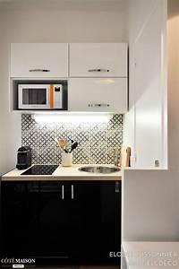 Kitchenette Pour Studio : 25 best ideas about kitchenettes on pinterest ~ Premium-room.com Idées de Décoration