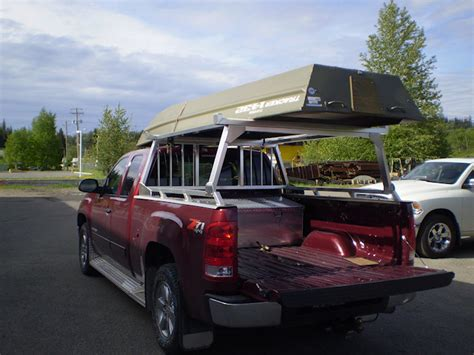 Truck Bed Boat Carrier cc industries boat racks cab guards box rails