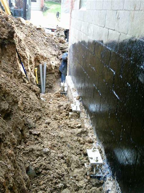 foundation repair sinking garage   brighton pa