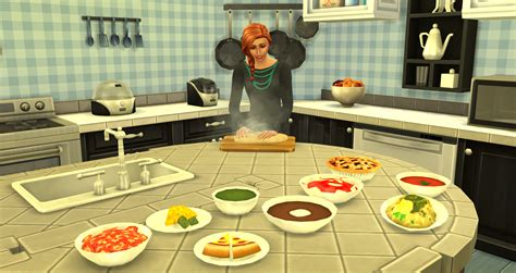 cuisine sims 3 sims 4 food recipes food