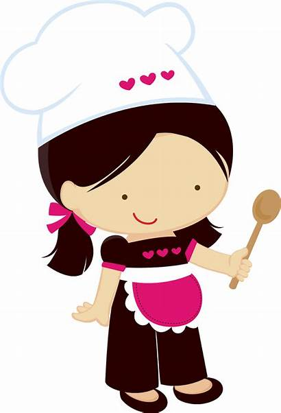 Clipart Chef Chefs Before Cooking Kitchen Ladies