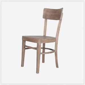 Chaise De Bistrot Bois : chaise marcel chaise en bois brut chaise de table style bistrot cuisine maison ~ Teatrodelosmanantiales.com Idées de Décoration