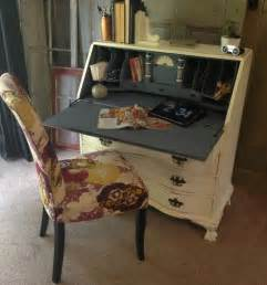 Shabby Antique Secretary Desk