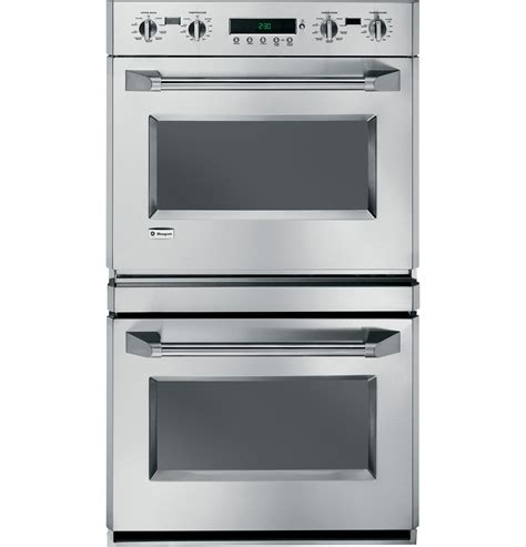 ge monogram  professional electronic convection double wall oven zetpmss ge appliances