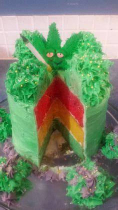 1033 Marijuana Birthday Cake Leaves Rasta Cake And Cakes On