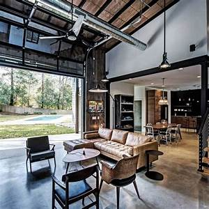 51, Industrial, Living, Room, Decor, Ideas