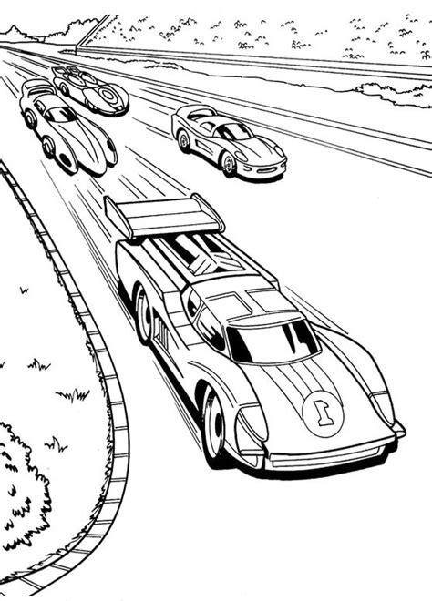 race car racing hot wheels coloring pages vaerityskuvia
