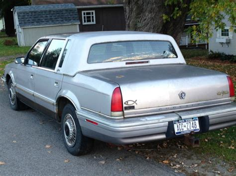 92 Chrysler New Yorker by 1992 Chrysler New Yorker 5th Avenue No Reserve Air Lifts