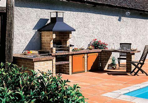 aménagement cuisine d été cuisine d 39 exterieur d 39 été
