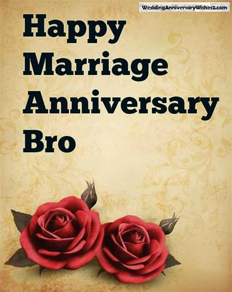 wedding anniversary wishes messages quotes  brother  sister  law