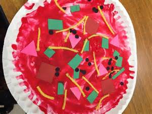 Pizza Preschool Art Activities