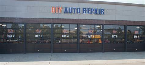 Diy Auto Repair Shops Equipped Selfservice Garage Bays