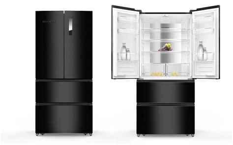 refrigerateur congelateur noir r 233 frig 233 rateur cong 233 lateur noir 536 l scfd536nfb schneider