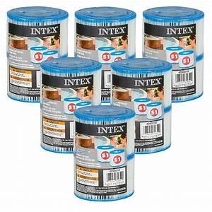 Filtre Spa Intex : 12 cartouches de spa intex 6 lots de 2 filtres de spas intex ~ Voncanada.com Idées de Décoration
