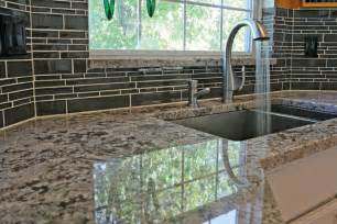 Glass Tile Kitchen Backsplash Important Kitchen Interior Design Components Part 3 To Backsplash Or Not To Backsplash