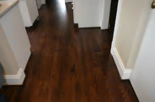 replacement old douglas fir floor with new red oak floor