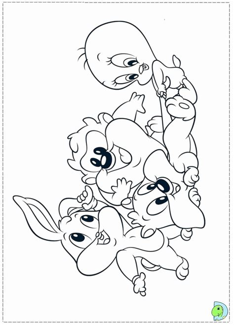 baby looney tunes coloring pages coloring home