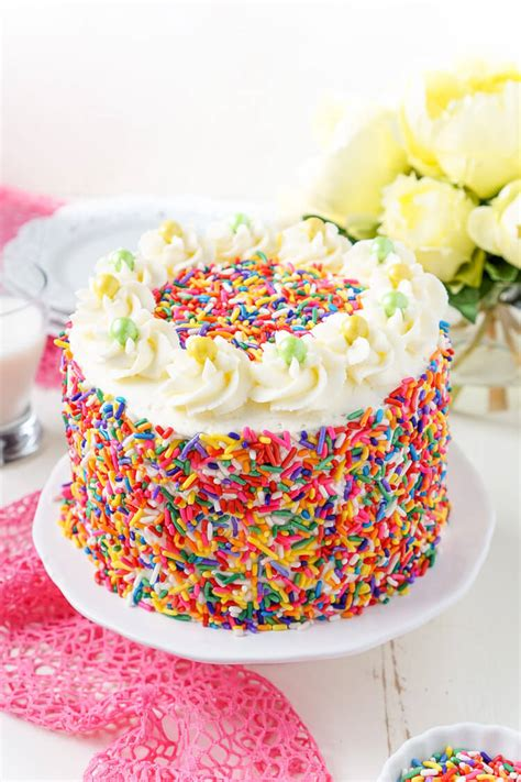 Funfetti Birthday Cake  Sugar & Soul