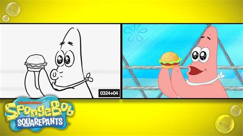whats eating patrick  sketch  screen spongebob