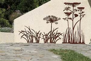 Decoration Murale Exterieur En Fer : decoration murale exterieure maison jardin exterieur djunails ~ Melissatoandfro.com Idées de Décoration