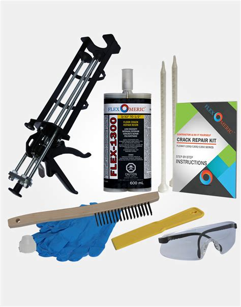 floor kit do it yourself concrete foundation crack repair kit flexomeric