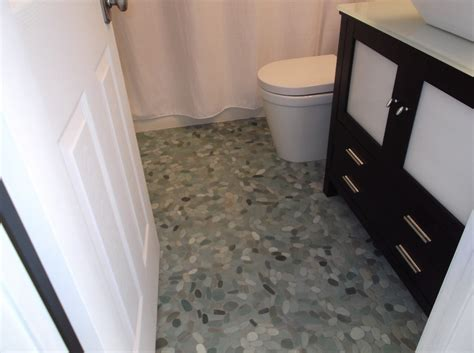 Sliced Sea Green Pebble Tile   Subway Tile Outlet