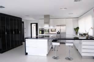 kitchen best black and white kitchen design ideas image