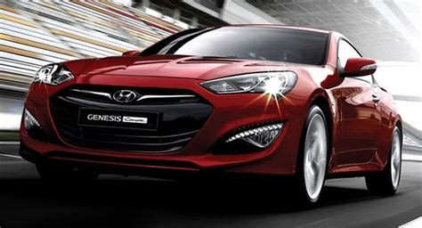 2013 Hyundai Genesis Reliability by Official 2013 Hyundai Genesis Coupe Gets New 3 8l V6 With