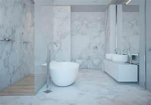 Badezimmer Grau Weiß : raumgestaltung ideen in grau 5 moderne appartements ~ Markanthonyermac.com Haus und Dekorationen