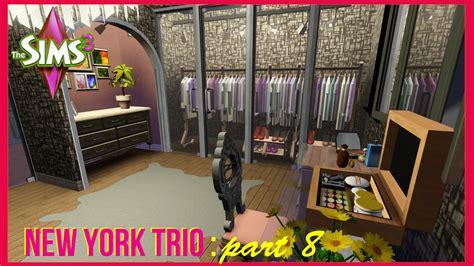 the sims 3 new york trio closet