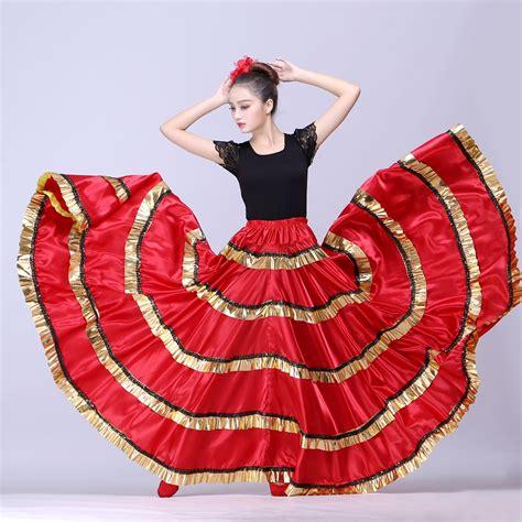 pakaian big size flamenco skirt belly skirt flamenco skirt