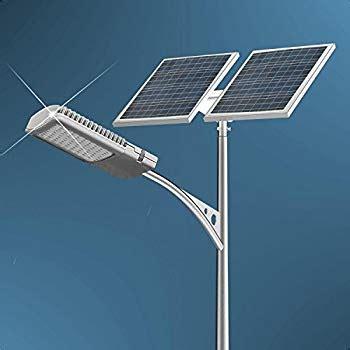 40 Watt Led Solar Street Light System 2pcs 100 Watts