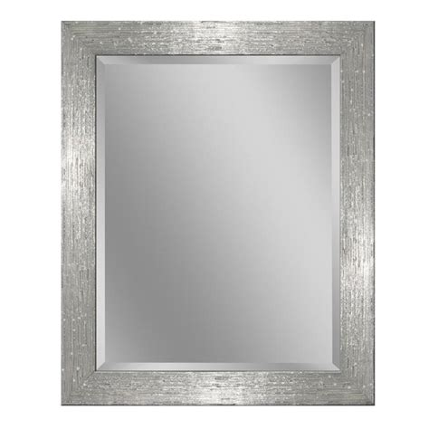 allen roth        whitechrome beveled wall
