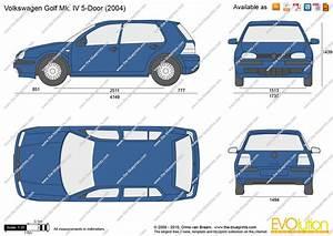 Dimensions Golf 5 : volkswagen golf iv 5 door vector drawing ~ Medecine-chirurgie-esthetiques.com Avis de Voitures