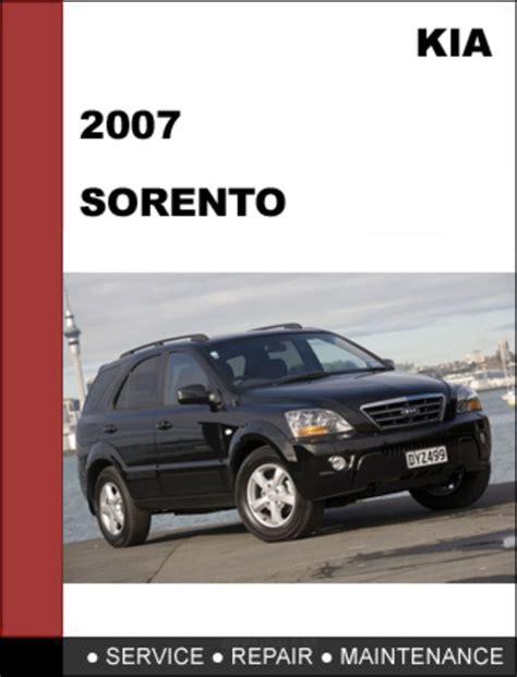 car manuals free online 2008 kia sorento electronic toll collection kia sorento 2007 oem factory service repair manual download downl