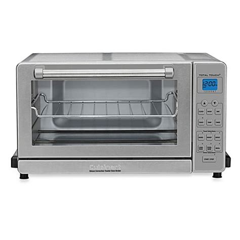toaster bed bath and beyond cuisinart 174 deluxe convection toaster oven broiler bed