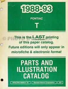 1992 Pontiac Lemans Repair Shop Manual Original