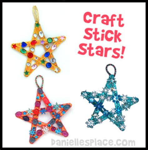 lesson 4 the wise search for jesus 121 | craft stick stars