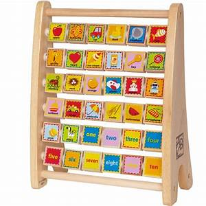 Alphabet abacus learning toy educational toys planet for Learning letters toys