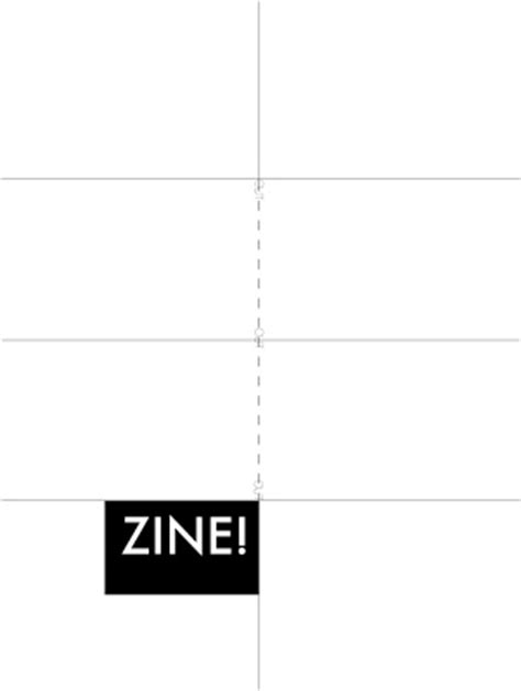 Zine Template Hangar Project Zine Template