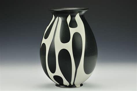 Black And White Vase by Sam Gallery