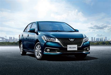 toyota allion facelift   jdm photo gallery
