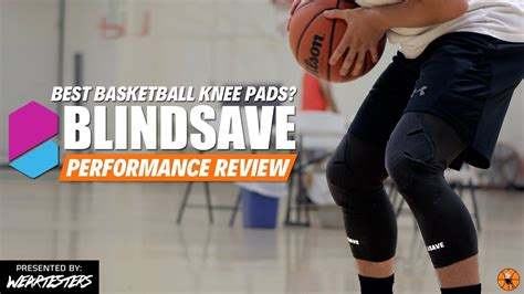 basketball knee pads blindsave  mcdavid