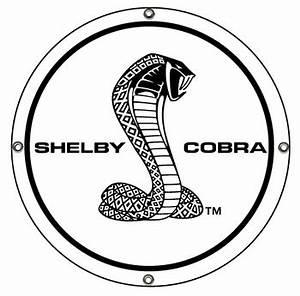 Shelby Cobra Super Snake Disc Metal Sign