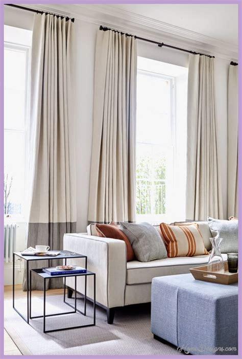 ideas  modern living room curtains